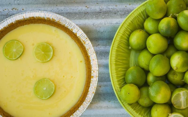 Ciasto z meksykańskich limonek amerykańskie jedzenie