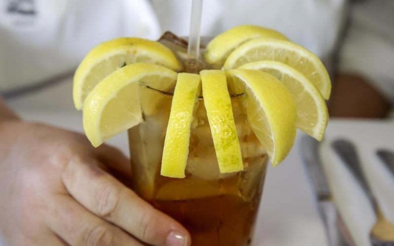 Mrożona herbata z Georgii amerykańskie jedzenie