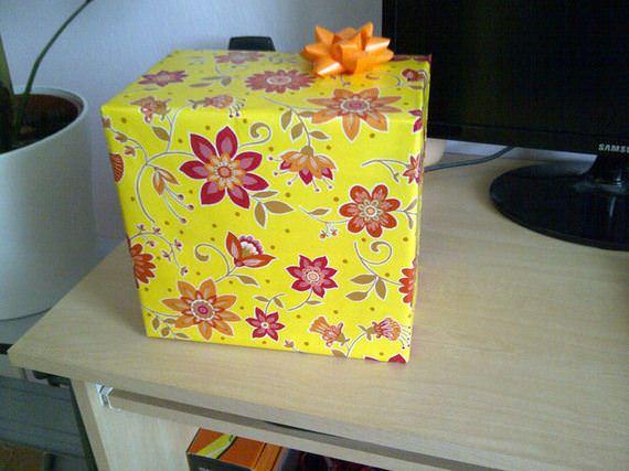 jak z pomysłem zapakować prezent urodzinowy