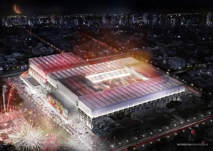Stadion Arena da Baixada Brazylia
