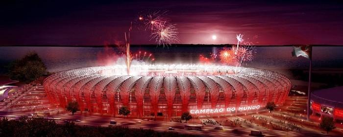 Stadion Estadio Beira-Rio Brazylia