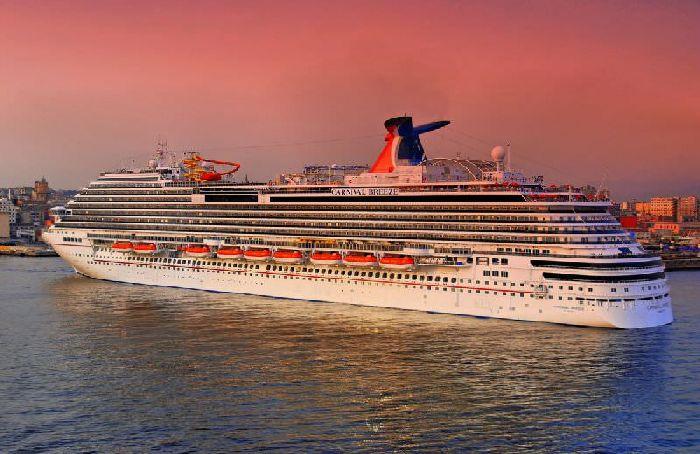 Statek Carnival Breeze