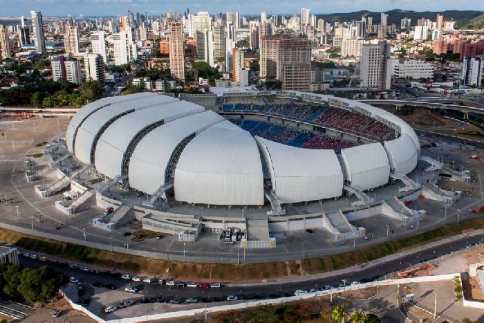 Stadion Estadio das Dunas Brazylia