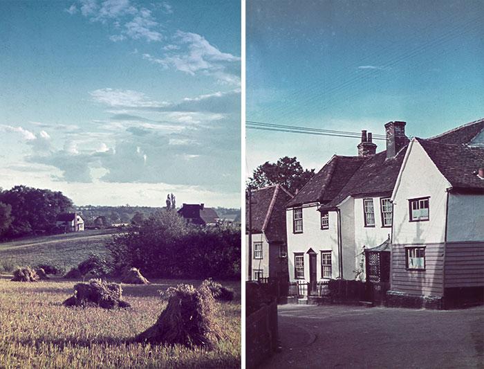 Stare kolorowe fotografie