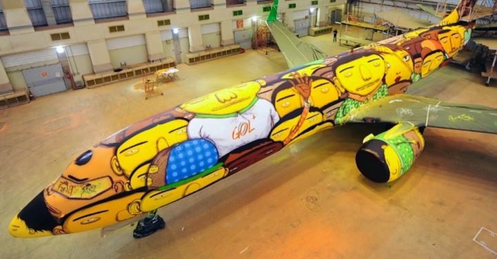 Brazylijski samolot pilkarski 1
