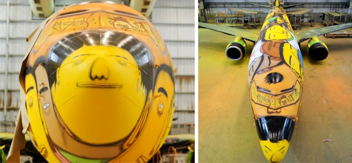 Brazylijski samolot pilkarski 10