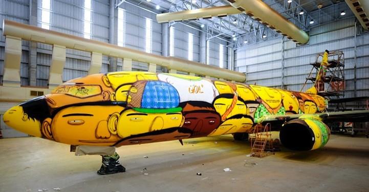 Brazylijski samolot pilkarski 3