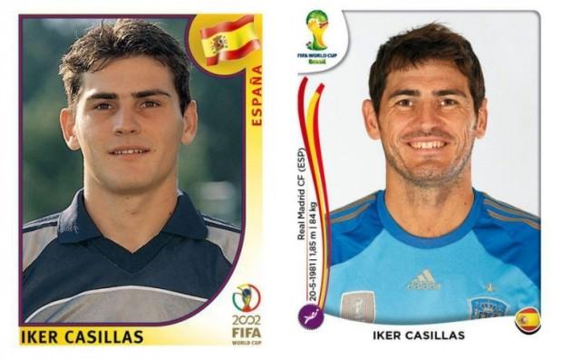 Casillas kiedyś i dzisiaj