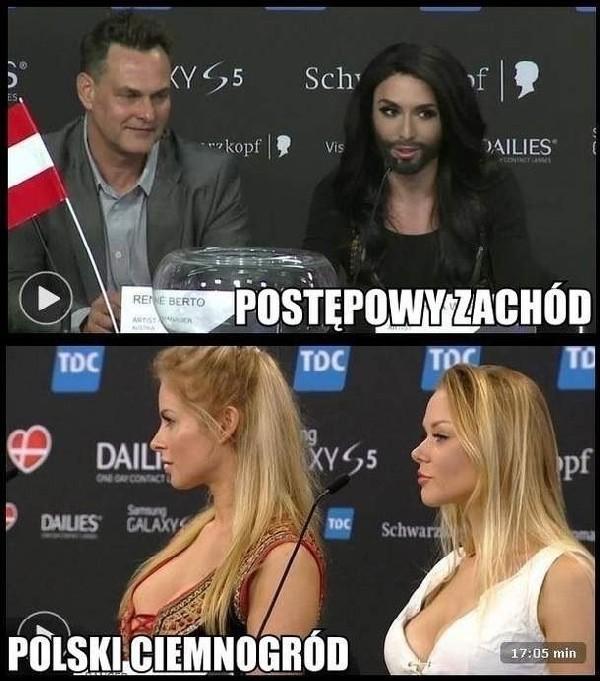 Conchita Wurst Memy Eurowizja