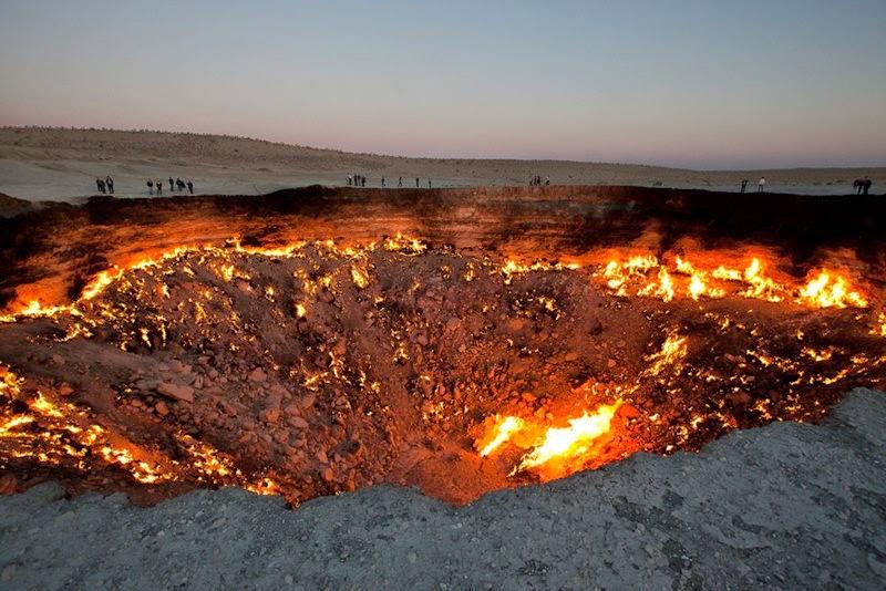 wrota piekieł Derweze Turkmenistan