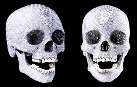 diamentowa czaszka