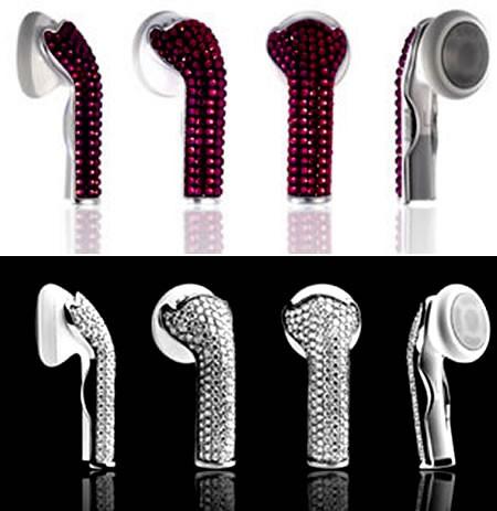 diamentowe słuchawki