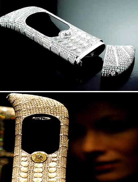 diamentowy telefon