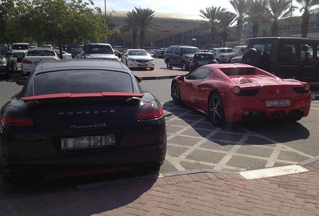 Porsche Panamera i Ferrari
