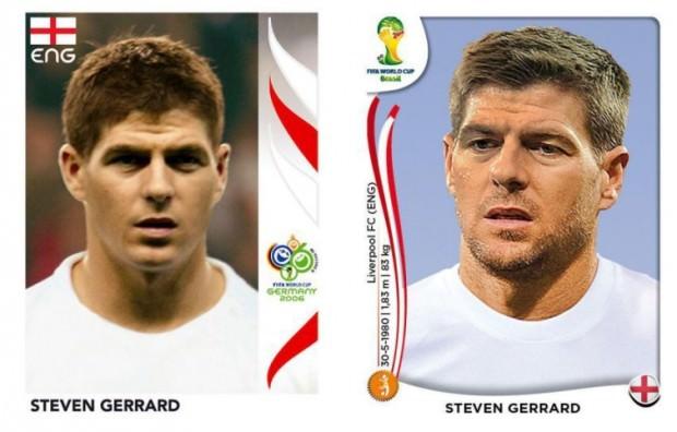 Gerrard kiedyś i dzisiaj