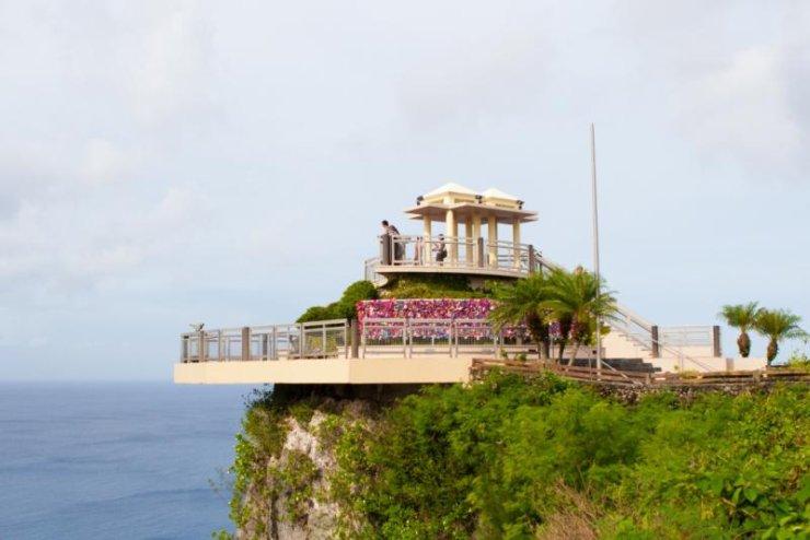 klif 2 kochanków na wyspie Guam