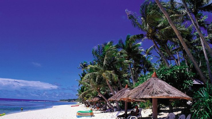 plaża na wyspie Guam