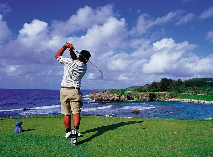 Golf na wyspie Guam