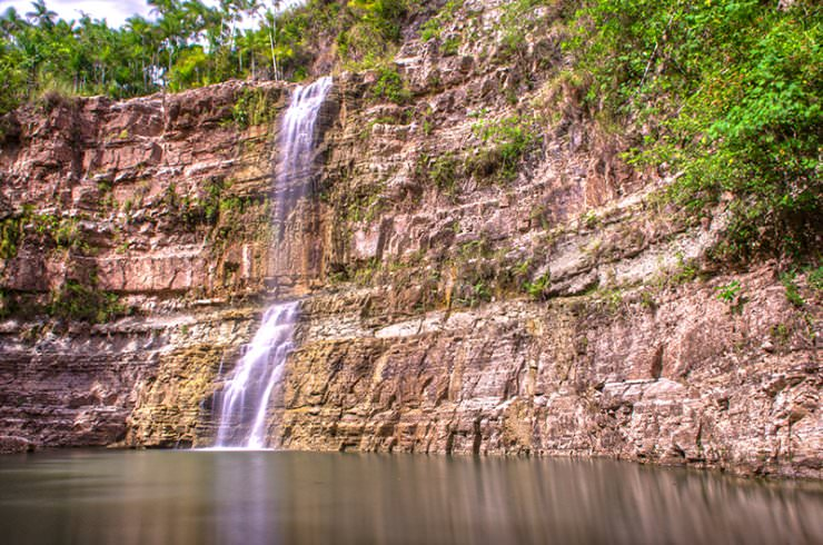 wodospady na wyspie Guam