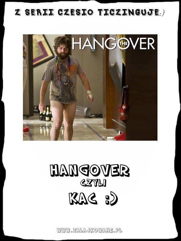 hangover - kac