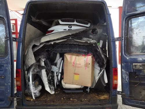 Kradzione BMW X6 Rumunia