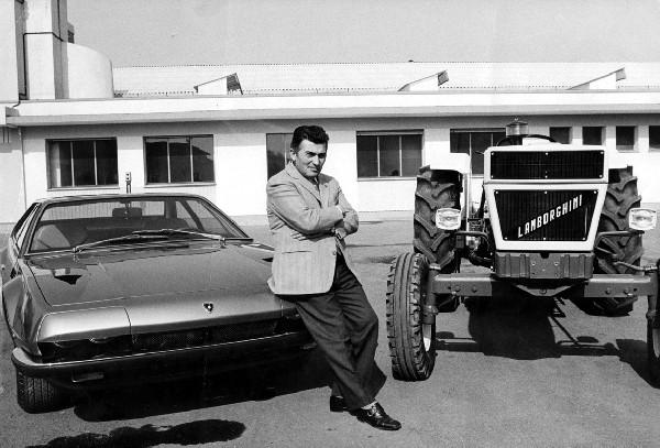Początki Lamborghini