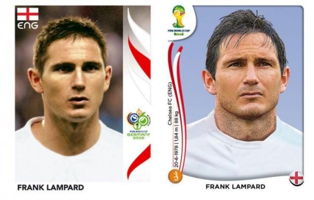 Lampard kiedyś i dzisiaj