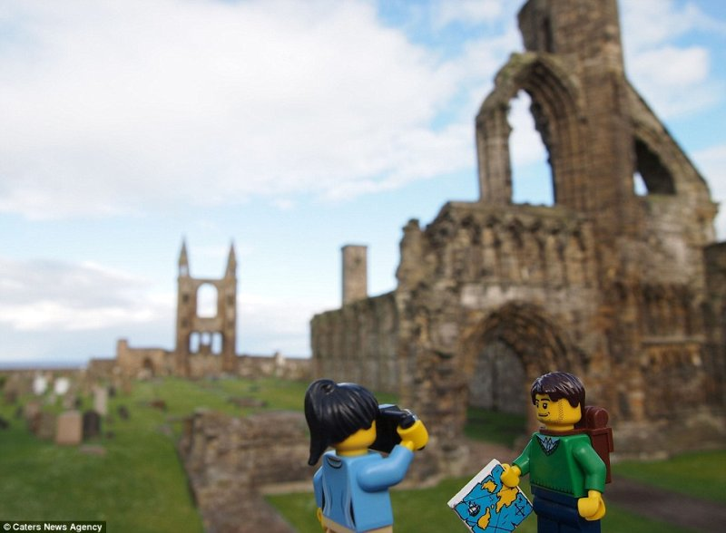 mali podróżnicy LEGO