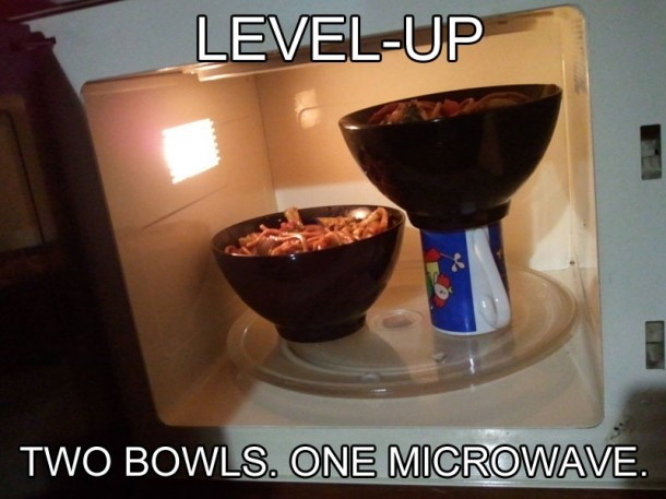 mikrofala trik