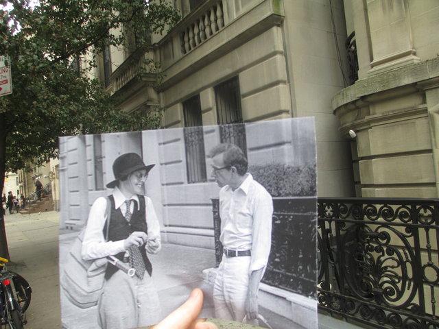 scena z filmu Annie Hall