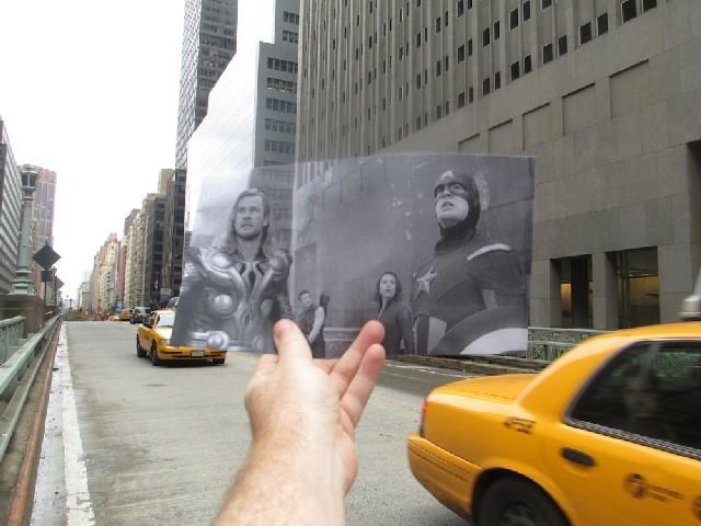 scena z filmu The Avengers
