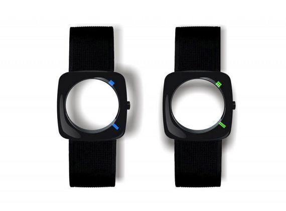 zegarek bez tarczy