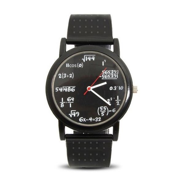 fajne zegarki - pomysł dla matematyków