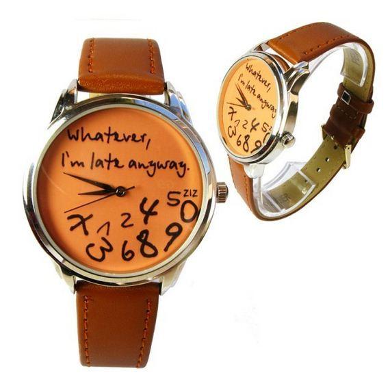 zegarek dla spóźnialskich