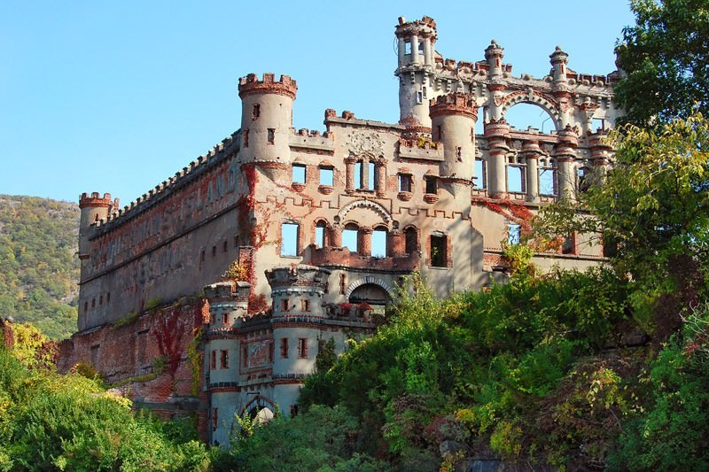 opuszczony zamek Bannerman USA