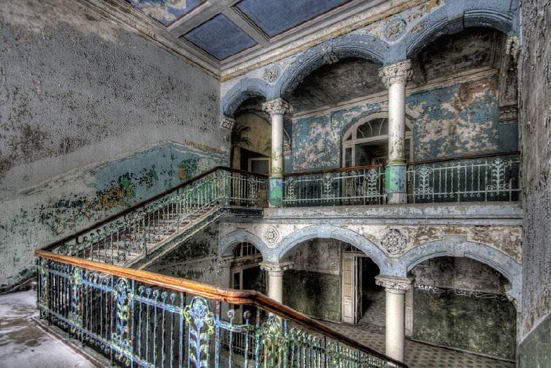 Opuszczony szpital Beelitz
