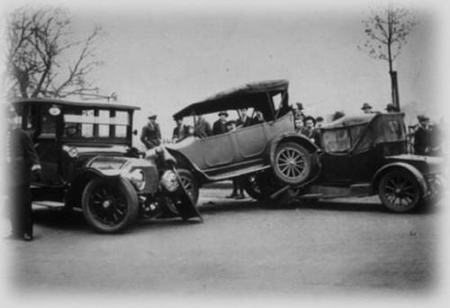 pierwszy wypadek w historii