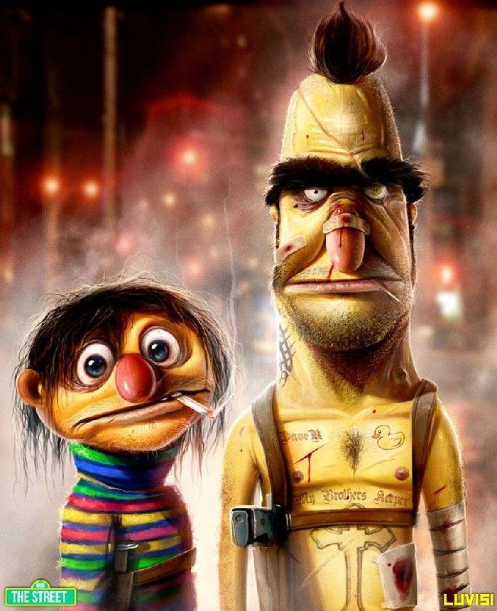 Dan LuVisi - bohaterowie kreskówek z piekła rodem