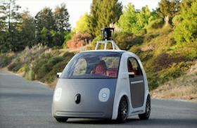 prototyp samojezdzacego google samochodu