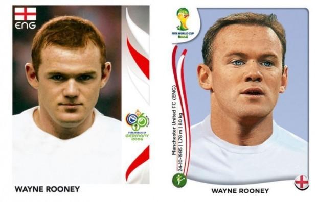 Rooney kiedyś i dzisiaj
