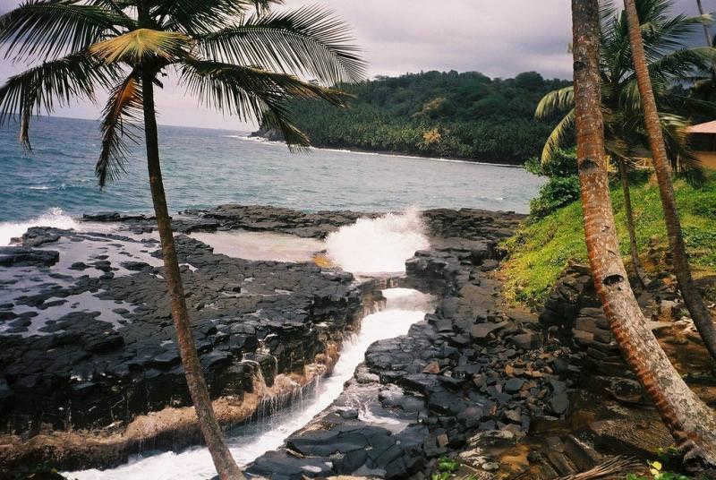 10 państw świata najrzadziej odwiedzanych przez turystów - Wyspy Świętego Tomasz i Książęca