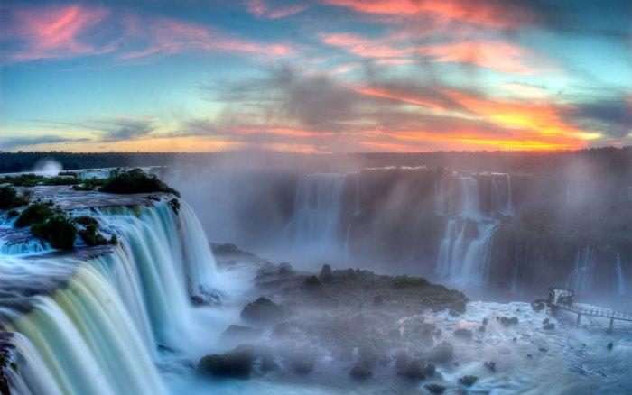 Brazylia wodospad Iguazu