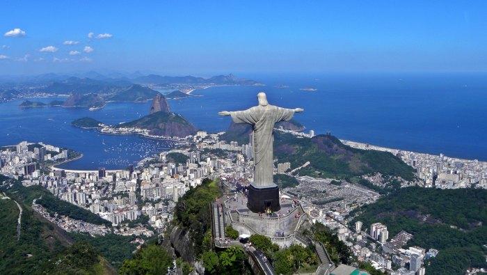 Brazylia pomnik Rio
