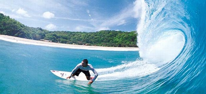 Brazylia surfing