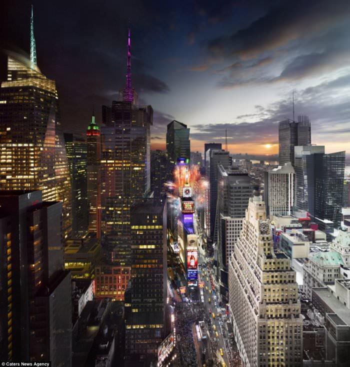 Day to Night - niesamowite zdjęcia Stephen Wilkes