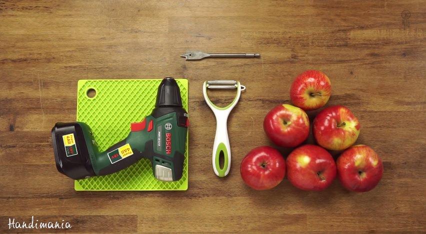 Jak szybko obrać jabłko