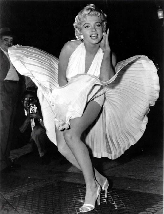 Zatrzymane w kadrze: Marilyn Monroe