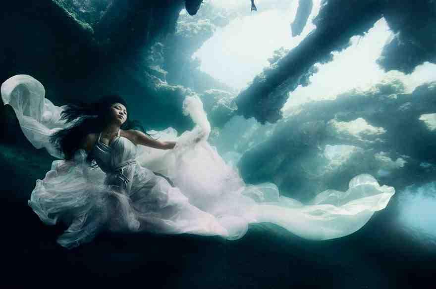 modelka pod woda 1