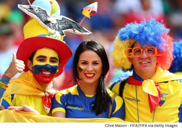 MŚ Brazylia 2014 barwni kibice