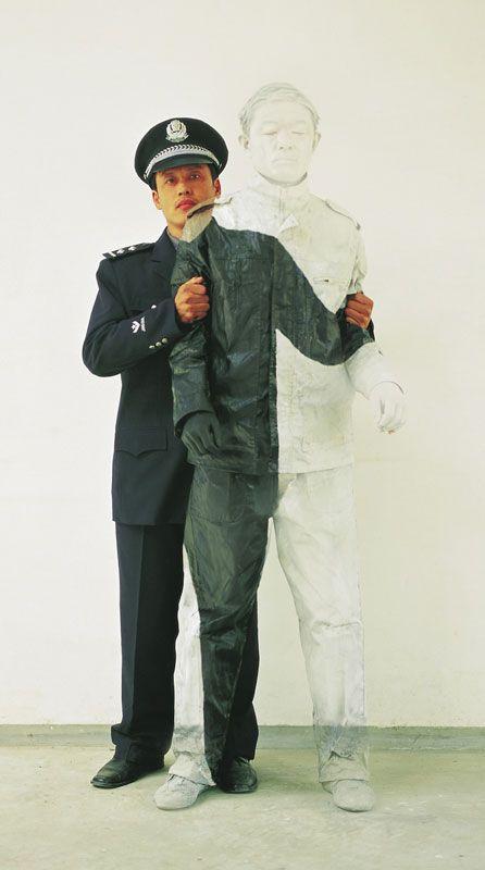 Liu Bolin niewidzialny człowiek